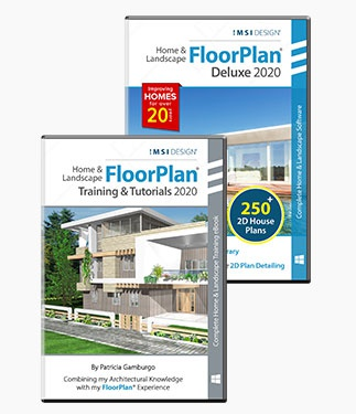 FloorPlan 2020 Deluxe & Training Bundle - Windows Version