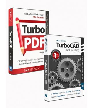 TurboCAD 2020 Deluxe & TurboPDF v3 Bundle