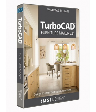 TurboCAD Furniture Maker v21