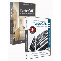 TurboCAD 2020 Professional Bundle with The... Thumbnail