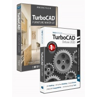 TurboCAD 2020 Deluxe Bundle with The... Thumbnail