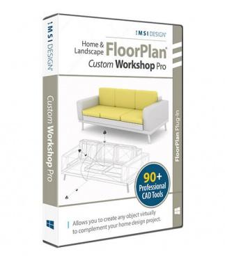 Custom WorkShop Pro 'plug-in' for Home & Landscape Pro 2020
