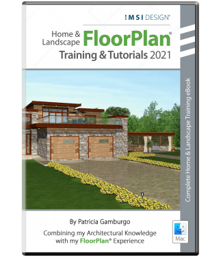 Learning FloorPlan® 2021: Training & Tutorials - Mac Version - By Patricia Gamburgo