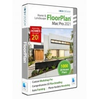 FloorPlan 2021 Home & Landscape Pro with... Thumbnail