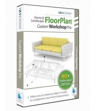 Custom WorkShop Pro 'plug-in' for Home & Landscape Pro 2021 - Mac