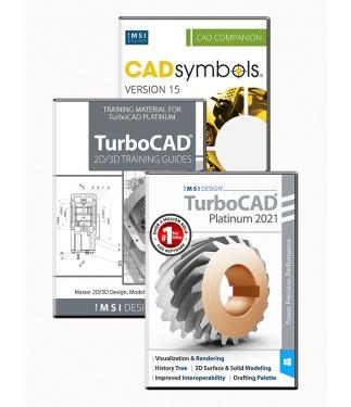 TurboCAD 2021 Platinum Bundle