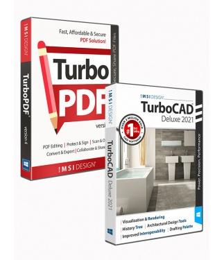 TurboCAD 2021 Deluxe & TurboPDF v4 Bundle