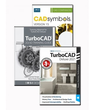 TurboCAD 2021 Deluxe Bundle
