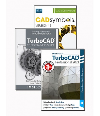 TurboCAD 2021 Professional Bundle
