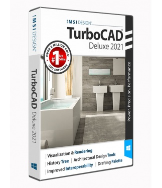 TurboCAD 2021 Deluxe Upgrade from 2020 Deluxe