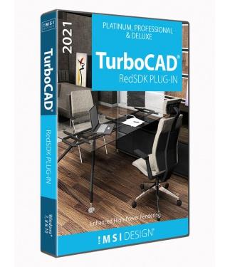 RedSDK Plug-in for TurboCAD 2021