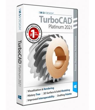 TurboCAD 2021 Platinum Upgrade from 2021 Professional