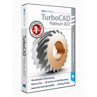 TurboCAD 2021 Platinum Subscription Thumbnail