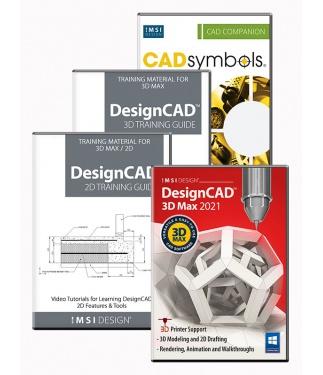 DesignCAD 2021 3D Max Upgrade Bundle