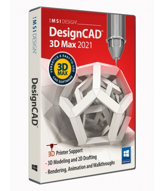 DesignCAD 2021 3D Max Upgrade from any DesignCAD 2D