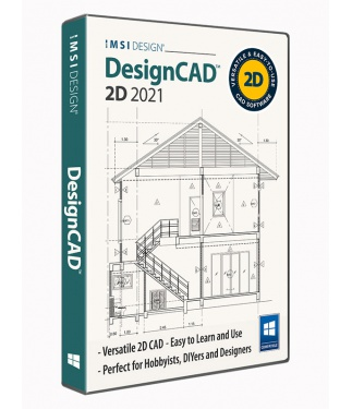 DesignCAD 2021 2D Upgrade from Any DesignCAD 2D
