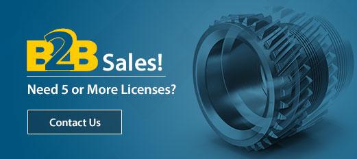 TurboCAD B2B Sales