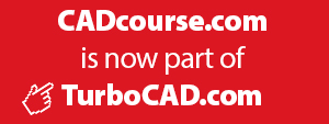 CADcourse.com is now part of TurboCAD.com
