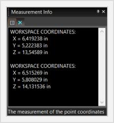 3d poit measure