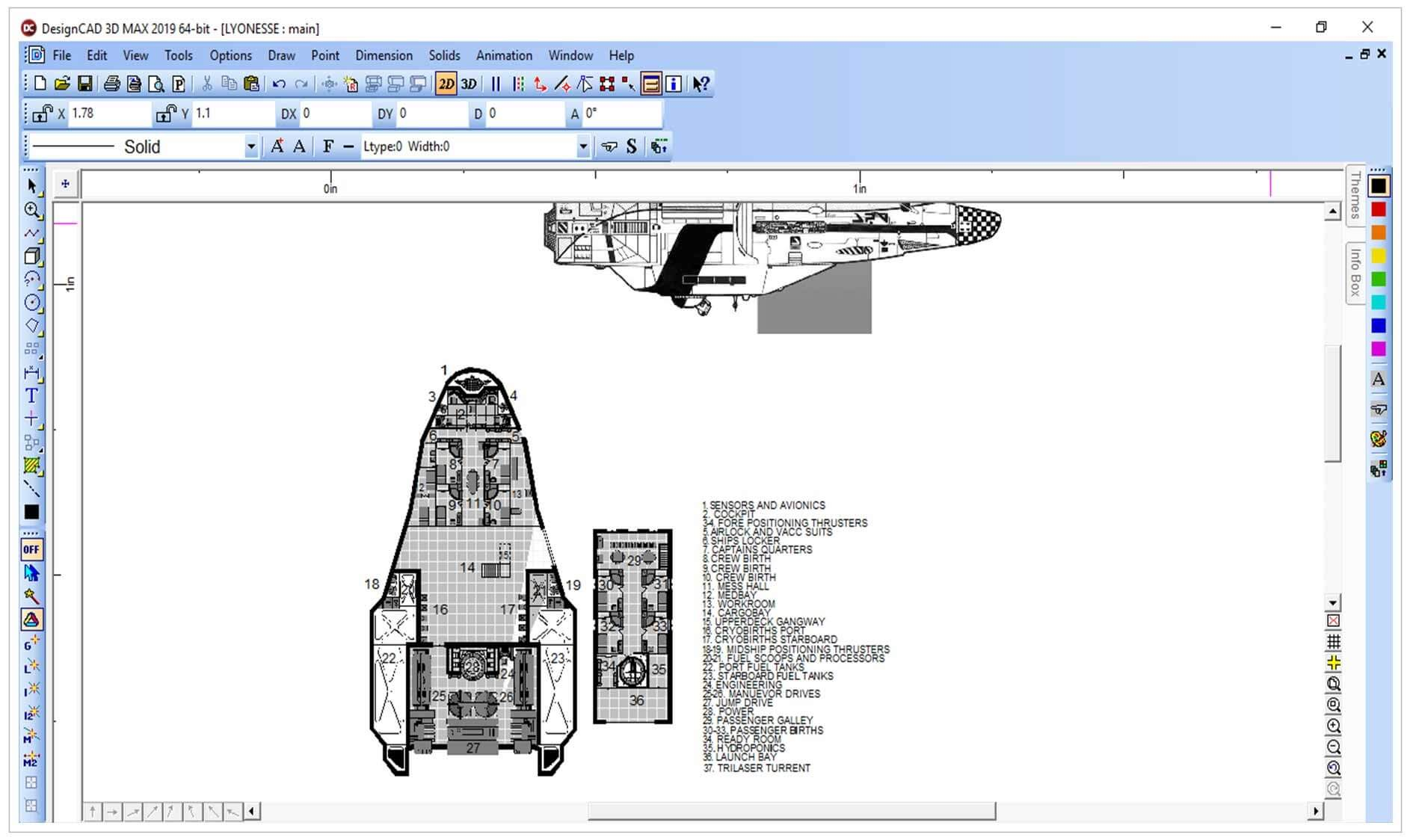 DesignCAD 2D 2019 - TurboCAD via IMSI Design