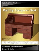 Roll Top Computer Desk Tutorial