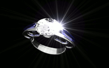 Diamond Ring Rendering