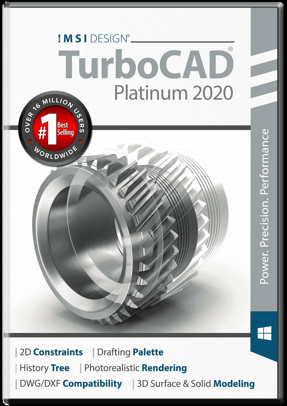 TurboCAD 2020 Platinum Free Trial