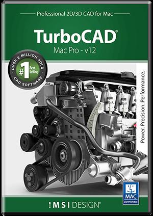TurboCAD Mac Pro v12