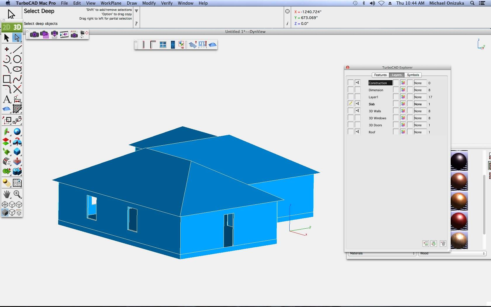 Architectural design tools turbocad via imsi design Roof drawing software