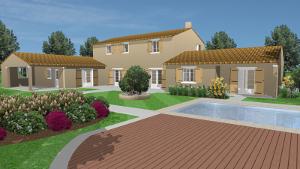 Modern Villa Yard