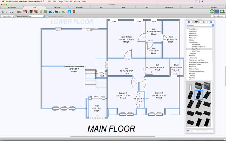 Floor plans for mac turbofloorplan home amp landscape Floor plan mac